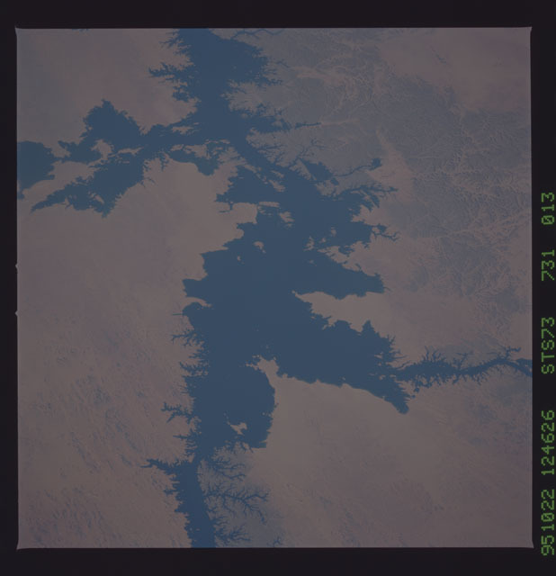 STS073-731-013 - STS-073 - Earth observations taken from shuttle orbiter Columbia