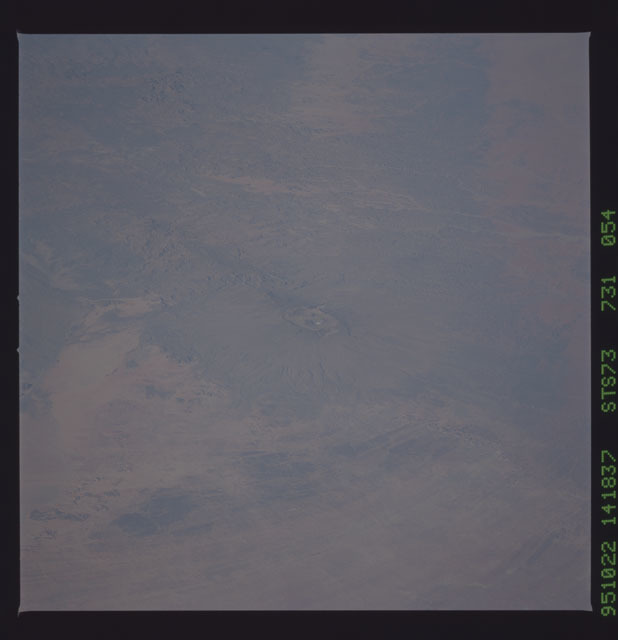 STS073-731-054 - STS-073 - Earth observations taken from shuttle orbiter Columbia
