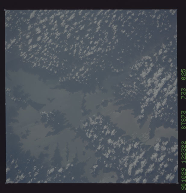 STS073-733-025 - STS-073 - Earth observations taken from shuttle orbiter Columbia