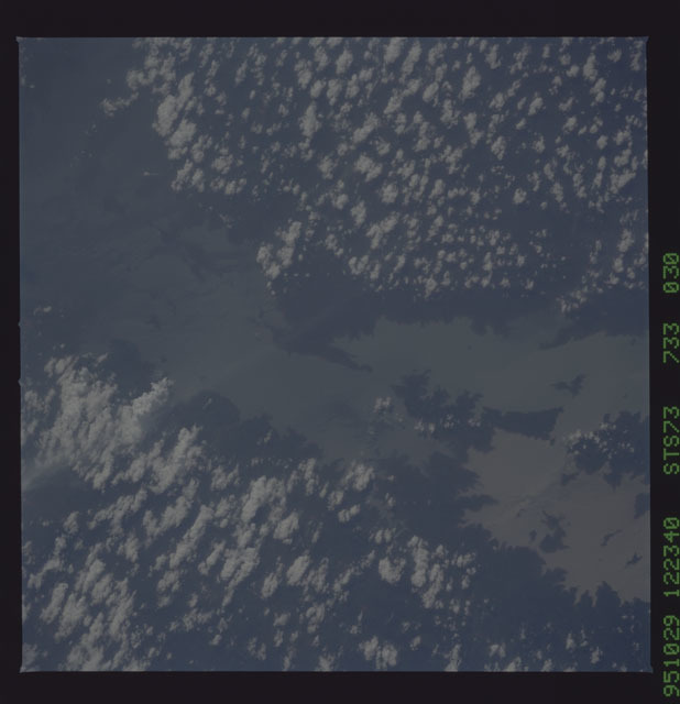 STS073-733-030 - STS-073 - Earth observations taken from shuttle orbiter Columbia
