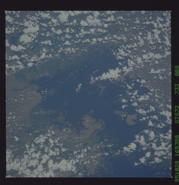 STS073-733-088 - STS-073 - Earth observations taken from shuttle orbiter Columbia