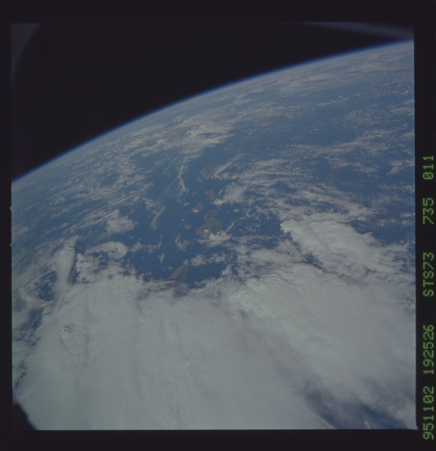 STS073-735-011 - STS-073 - Earth observations taken from shuttle orbiter Columbia