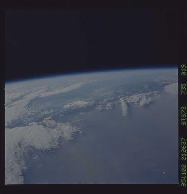 STS073-735-019 - STS-073 - Earth observations taken from shuttle orbiter Columbia