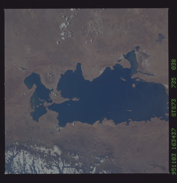 STS073-735-038 - STS-073 - Earth observations taken from shuttle orbiter Columbia