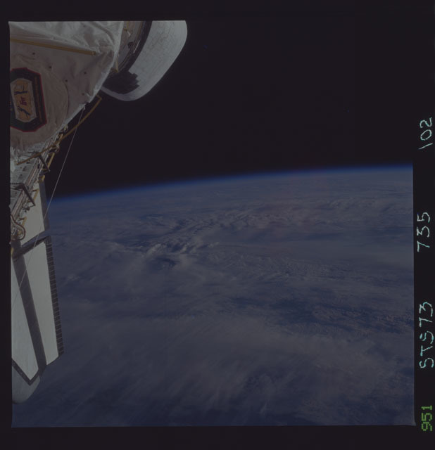 STS073-735-102 - STS-073 - Earth observations taken from shuttle orbiter Columbia