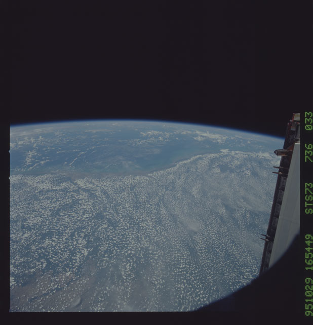 STS073-736-033 - STS-073 - Earth observations taken from shuttle orbiter Columbia