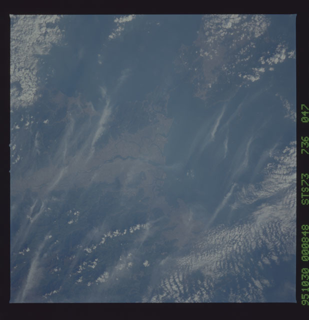 STS073-736-047 - STS-073 - Earth observations taken from shuttle orbiter Columbia