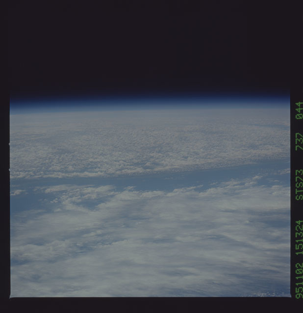STS073-737-044 - STS-073 - Earth observations taken from shuttle orbiter Columbia