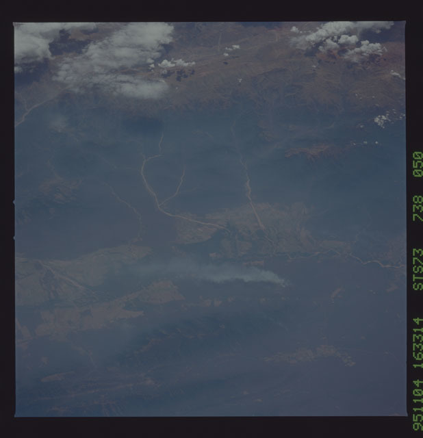 STS073-738-050 - STS-073 - Earth observations taken from shuttle orbiter Columbia