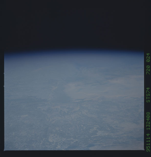 STS074-720-024 - STS-074 - Earth observations taken during STS-74 mission