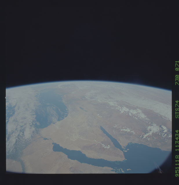 STS074-730-071 - STS-074 - Earth observations taken during the STS-74 mission