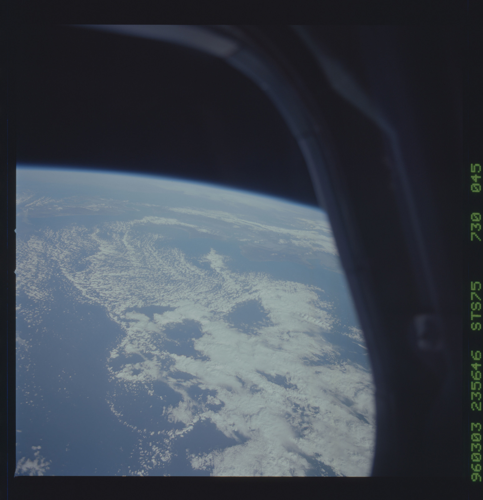 STS075-730-045 - STS-075 - Earth observations taken during STS-75 mission