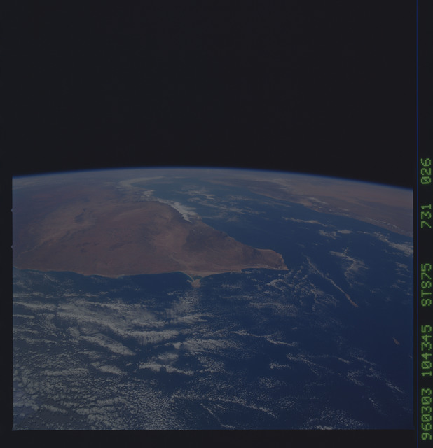 STS075-731-026 - STS-075 - Earth observations taken during STS-75