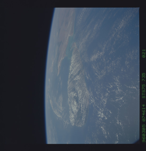 STS075-735-021 - STS-075 - Earth observations taken during STS-75