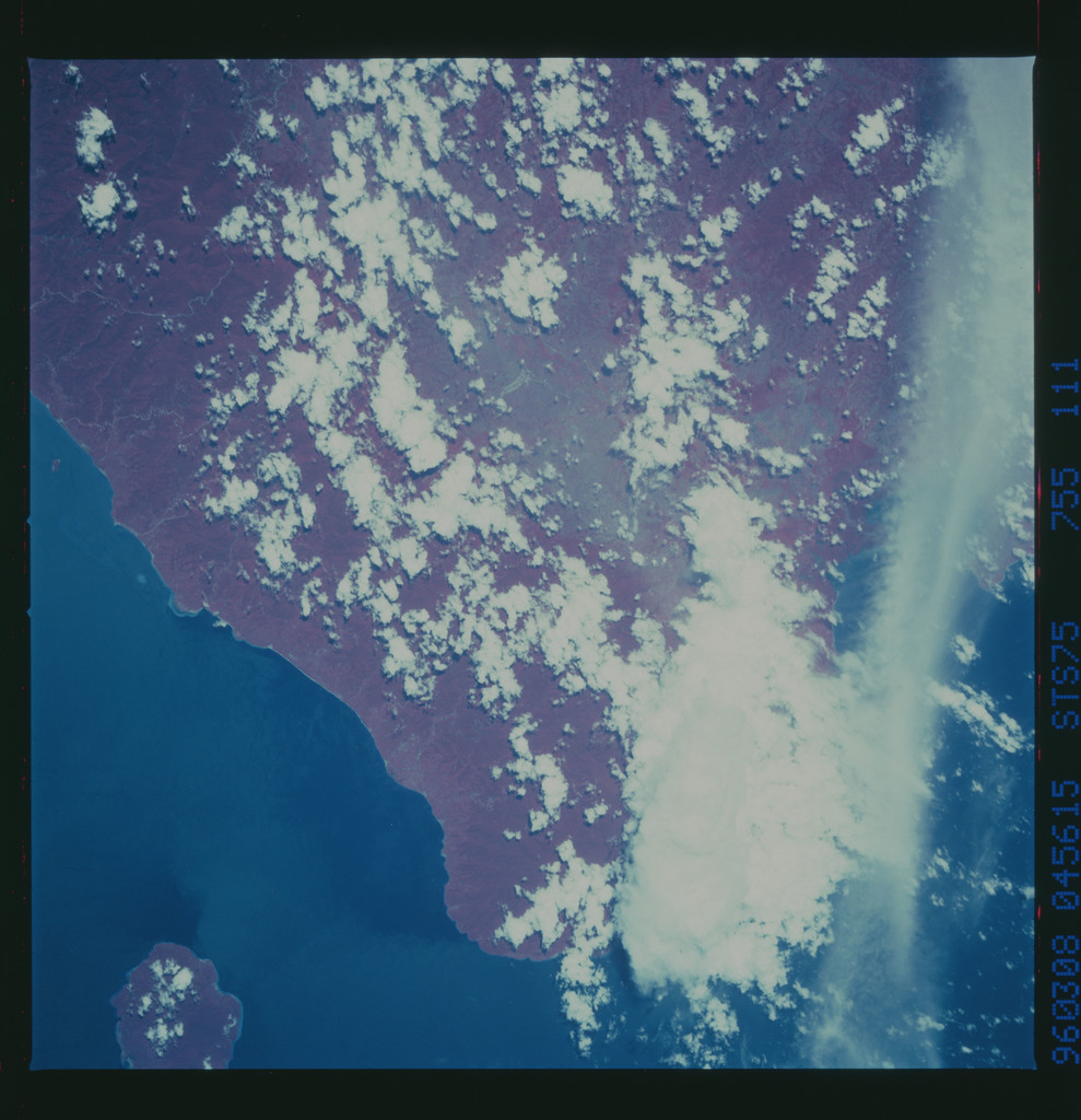 STS075-755-111 - STS-075 - Color infrared earth observations taken during STS-75