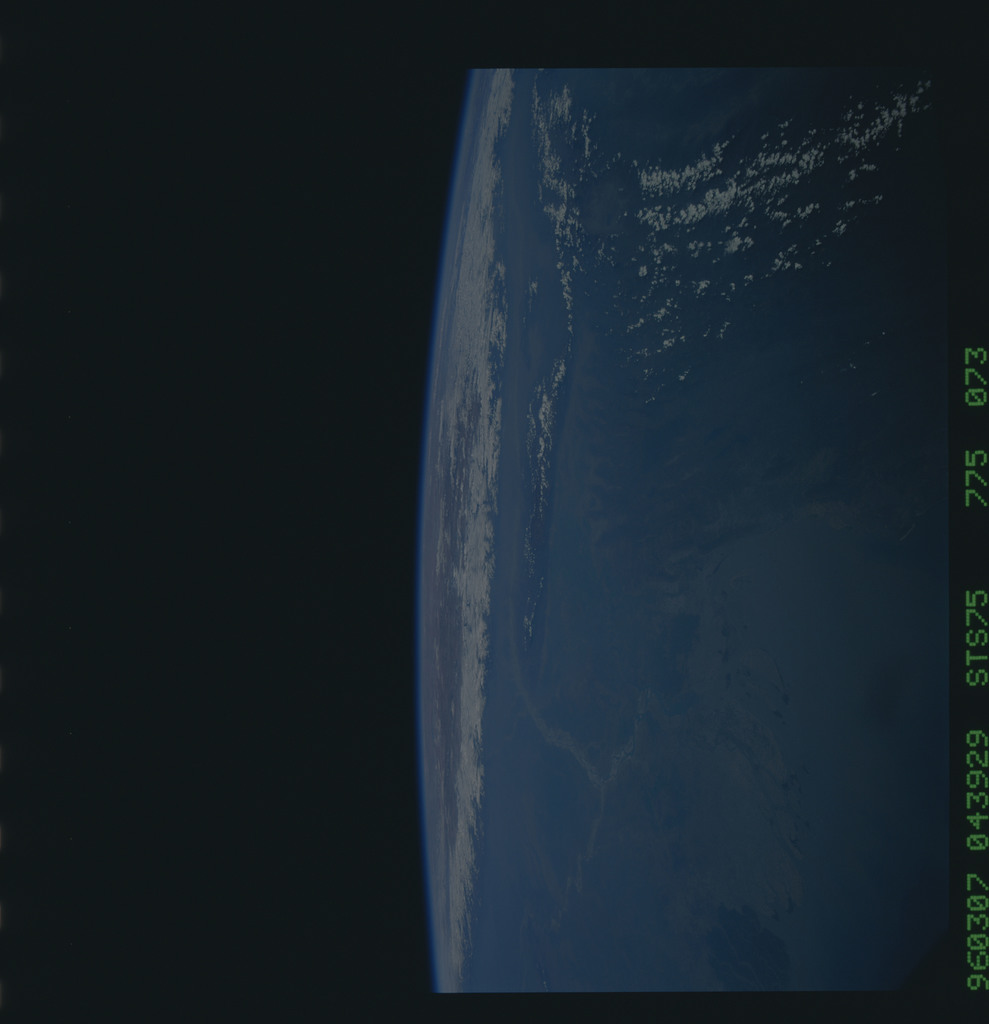 STS075-775-073 - STS-075 - Earth observations taken during STS-75 mission