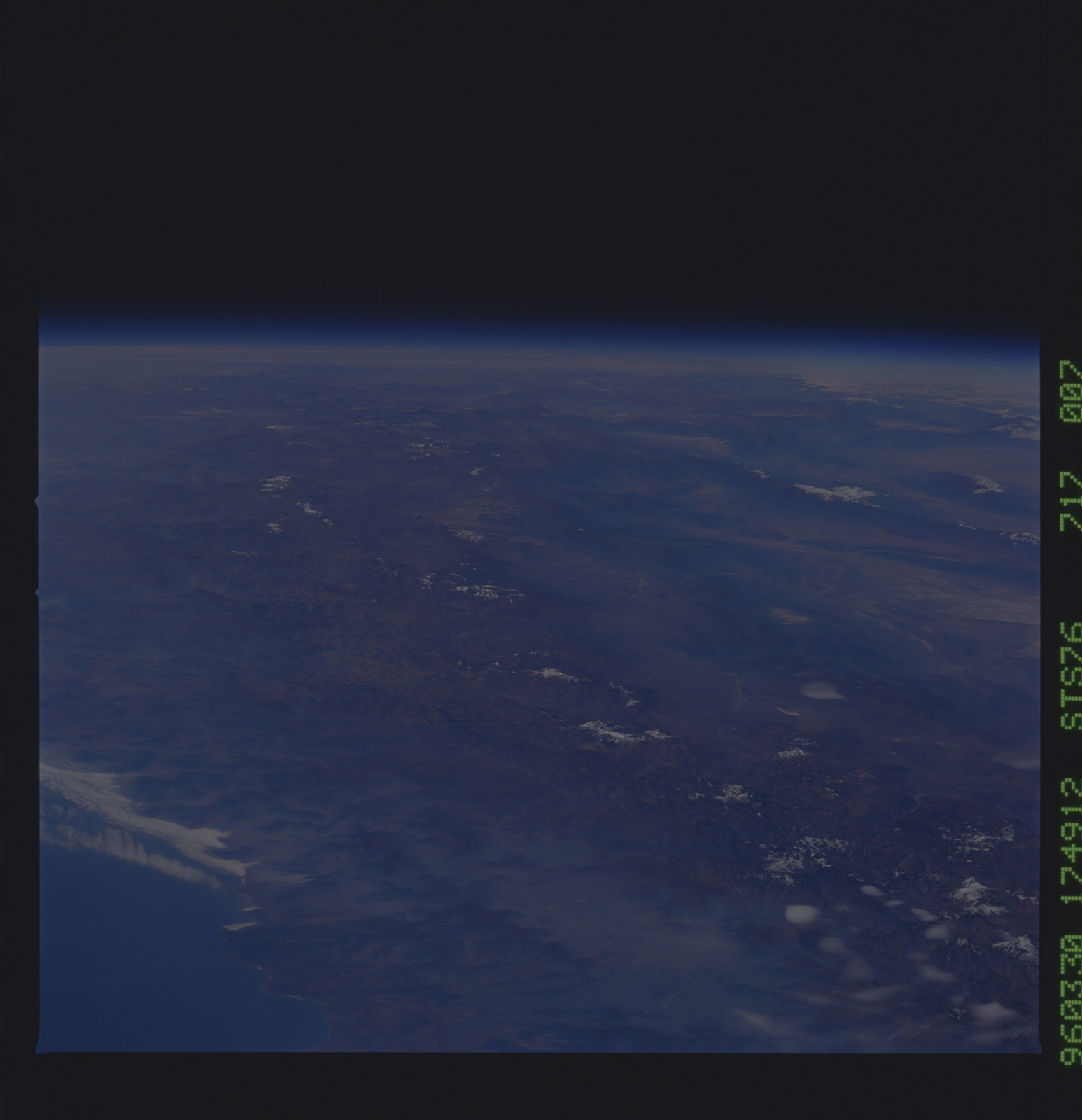 STS076-717-007 - STS-076 - Earth observations taken from shuttle orbiter Atlantis during STS-76 mission