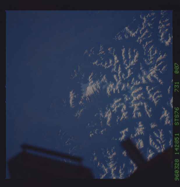 STS076-731-007 - STS-076 - Earth observations taken from shuttle orbiter Atlantis during STS-76 mission