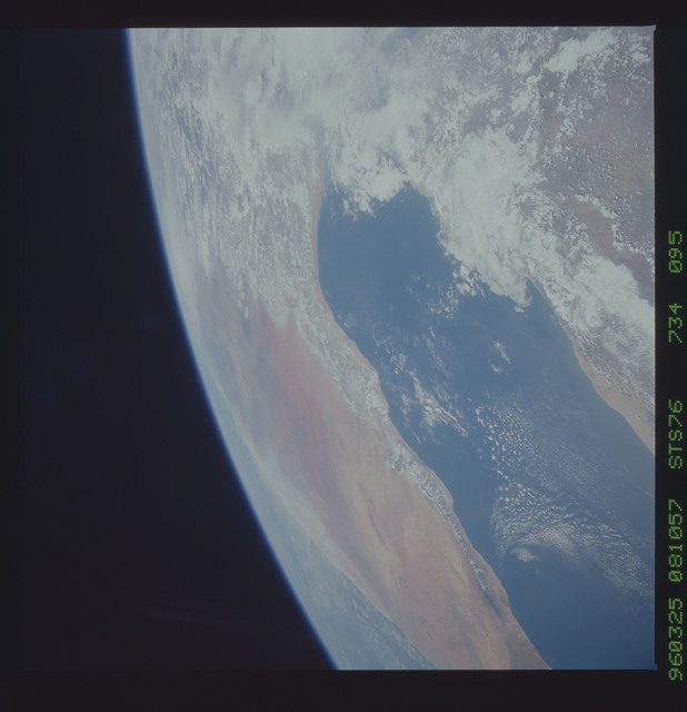 STS076-734-095 - STS-076 - Earth observations taken from shuttle orbiter Atlantis during STS-76 mission