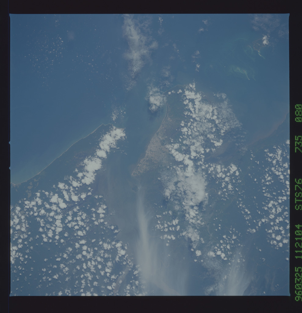 STS076-735-080 - STS-076 - Earth observations taken from shuttle orbiter Atlantis during STS-76 mission
