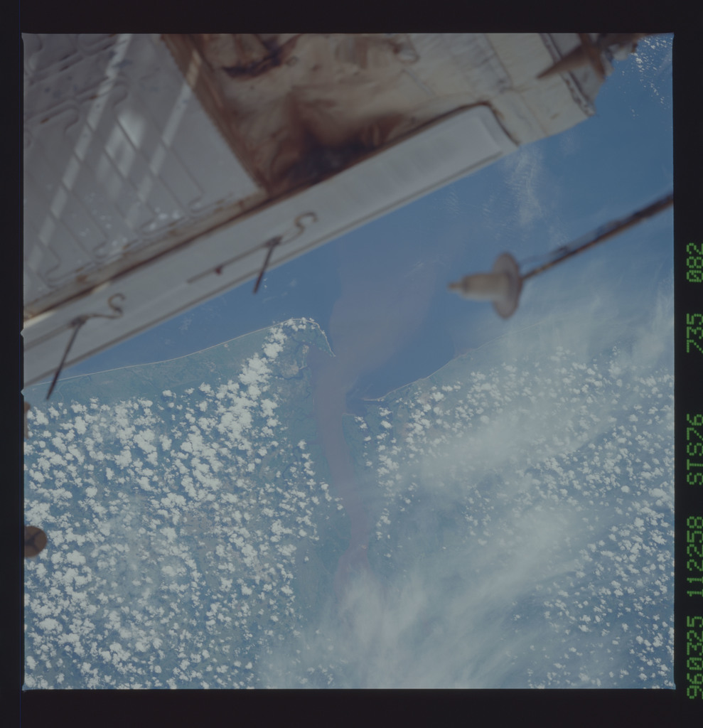 STS076-735-082 - STS-076 - Earth observations taken from shuttle orbiter Atlantis during STS-76 mission
