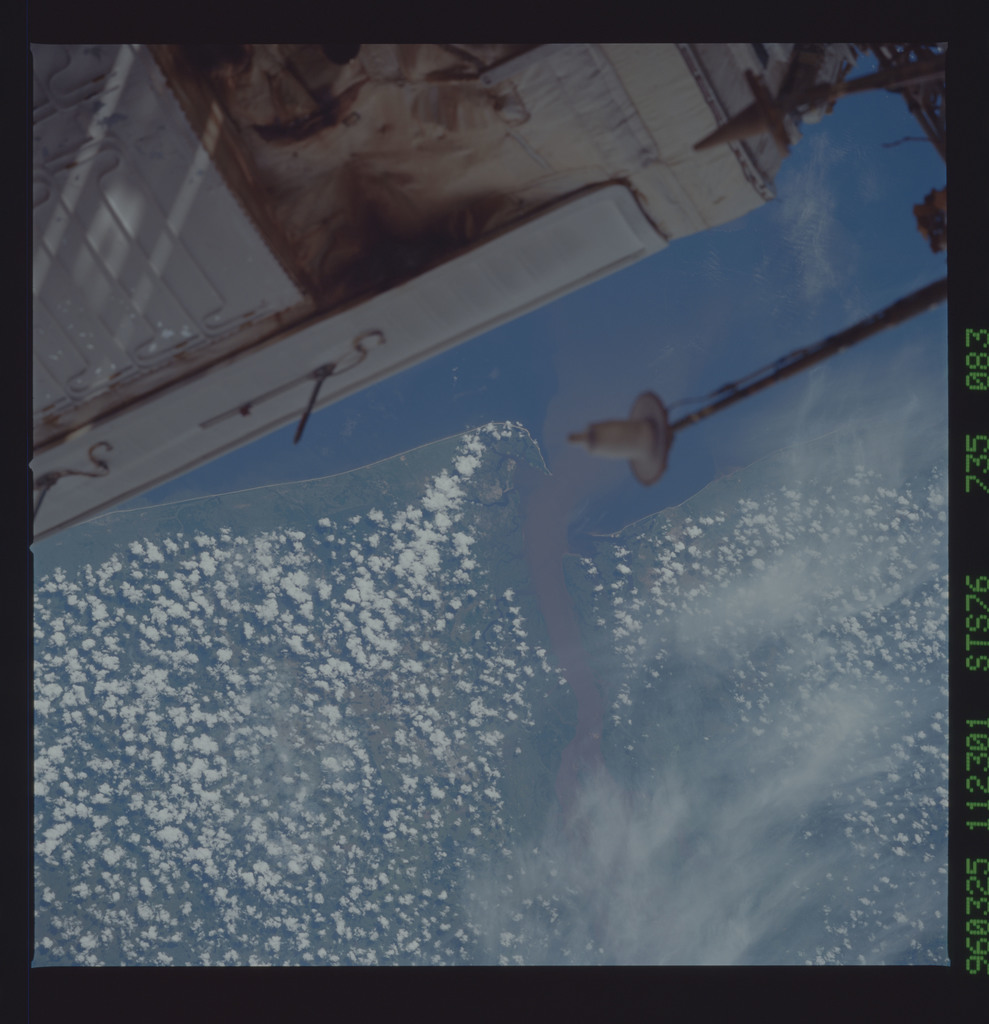 STS076-735-083 - STS-076 - Earth observations taken from shuttle orbiter Atlantis during STS-76 mission