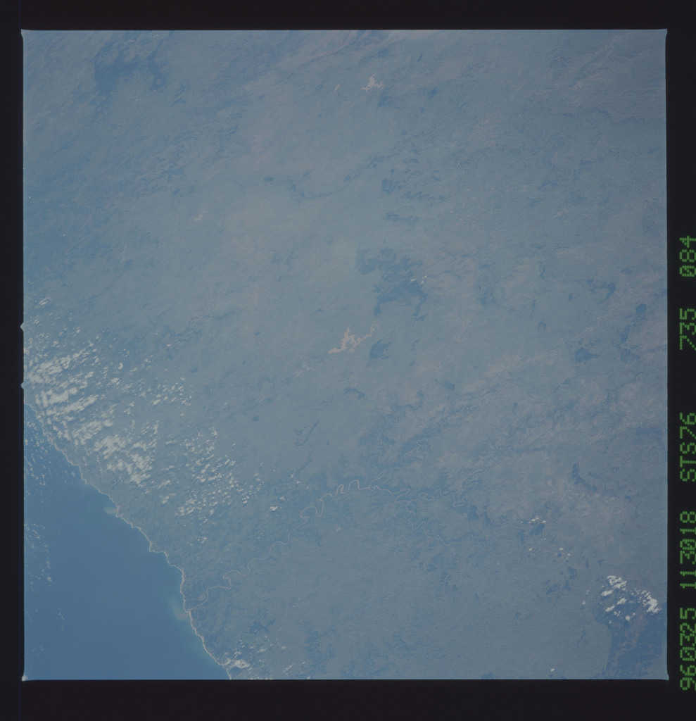 STS076-735-084 - STS-076 - Earth observations taken from shuttle orbiter Atlantis during STS-76 mission