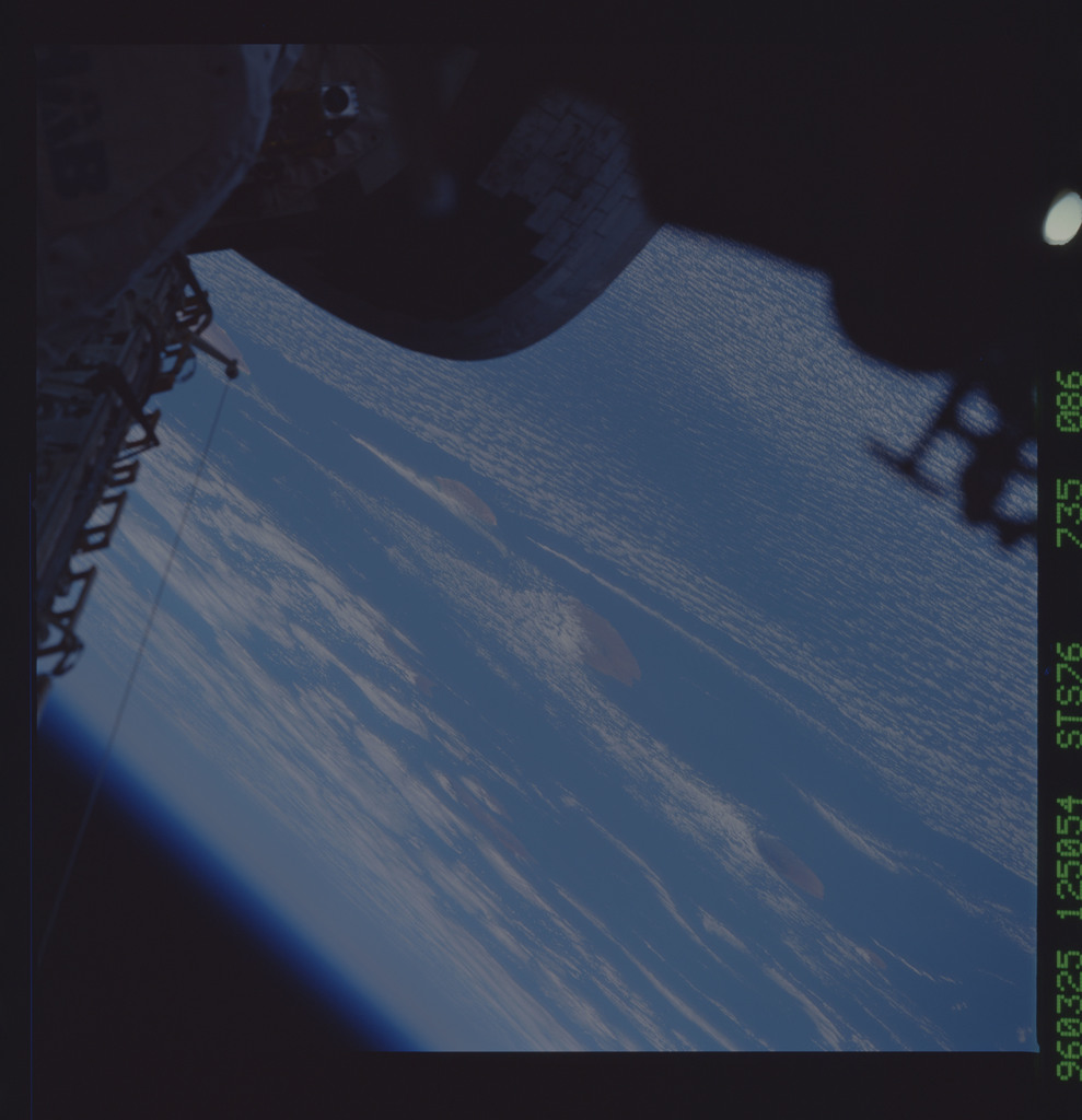 STS076-735-086 - STS-076 - Earth observations taken from shuttle orbiter Atlantis during STS-76 mission