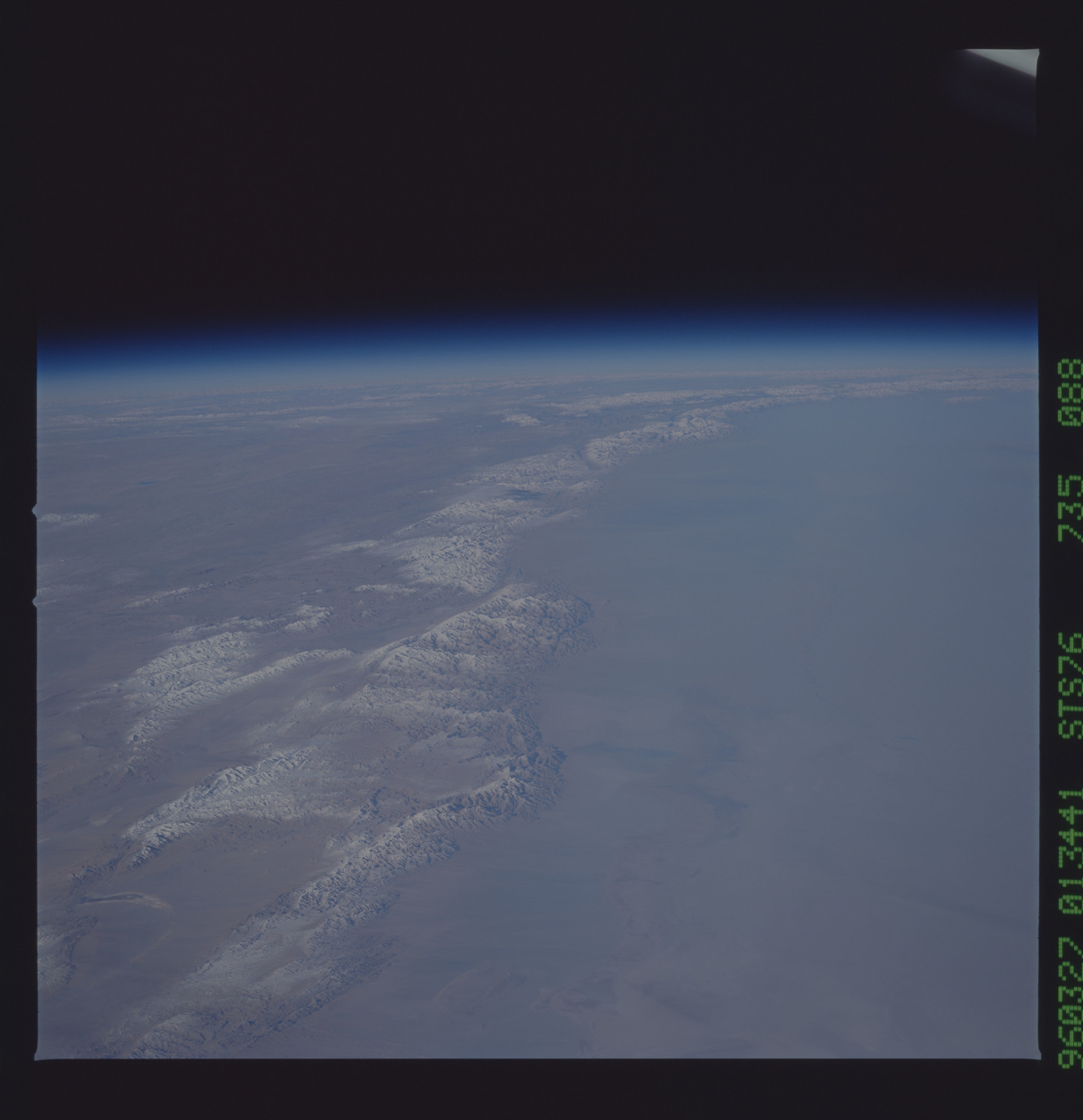 STS076-735-088 - STS-076 - Earth observations taken from shuttle orbiter Atlantis during STS-76 mission