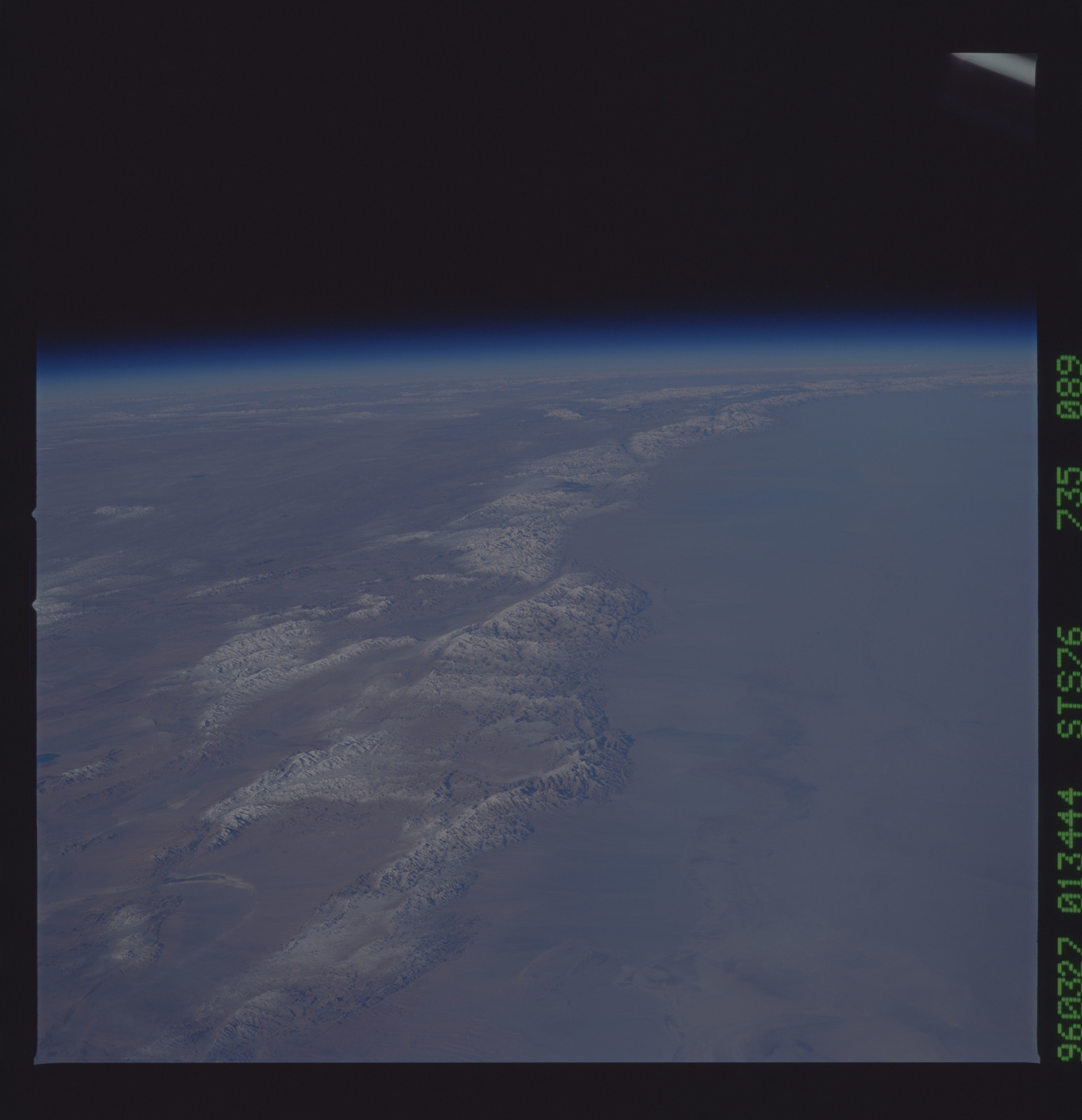 STS076-735-089 - STS-076 - Earth observations taken from shuttle orbiter Atlantis during STS-76 mission
