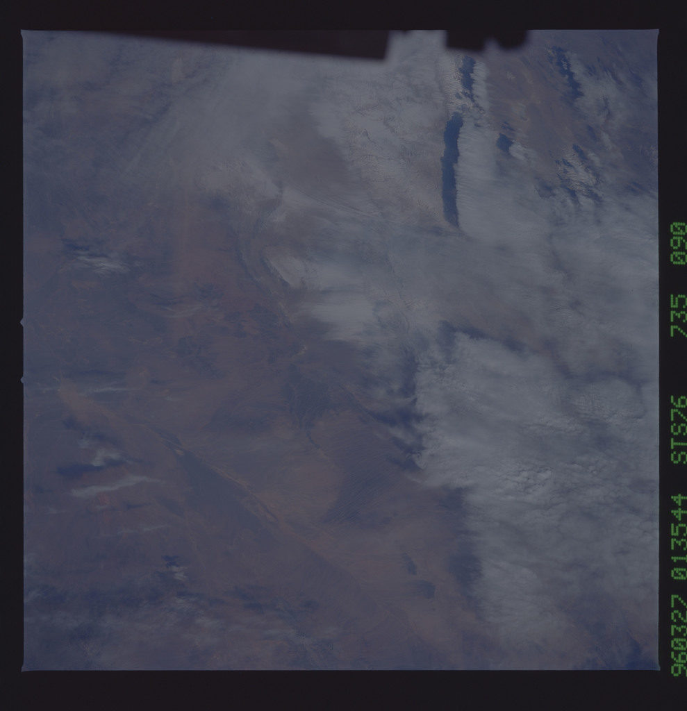 STS076-735-090 - STS-076 - Earth observations taken from shuttle orbiter Atlantis during STS-76 mission