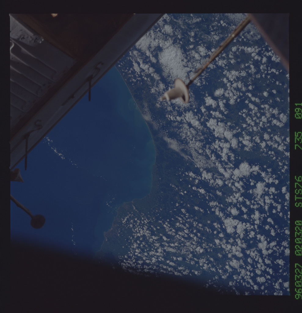 STS076-735-091 - STS-076 - Earth observations taken from shuttle orbiter Atlantis during STS-76 mission