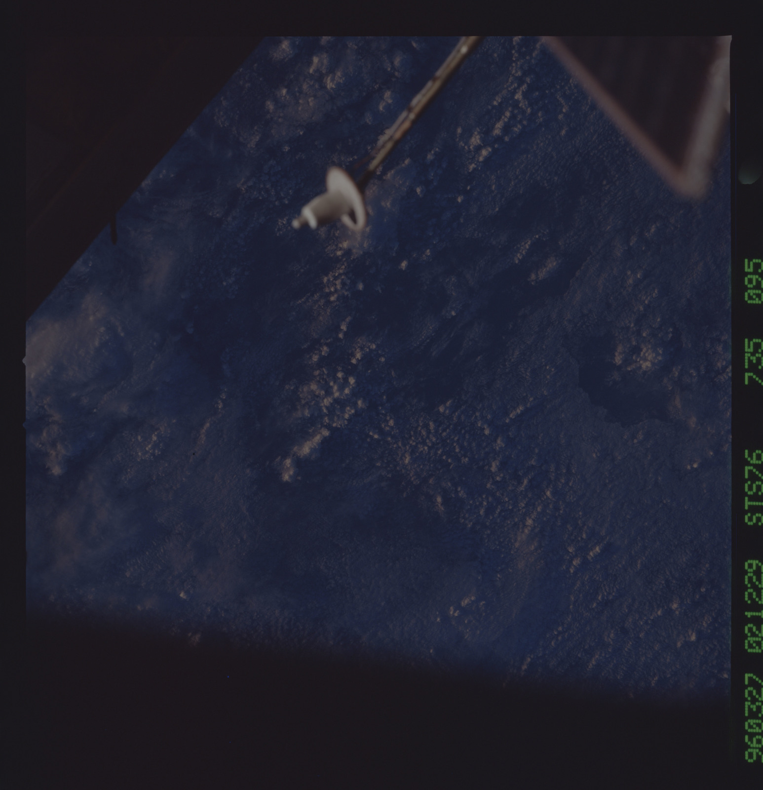 STS076-735-095 - STS-076 - Earth observations taken from shuttle orbiter Atlantis during STS-76 mission