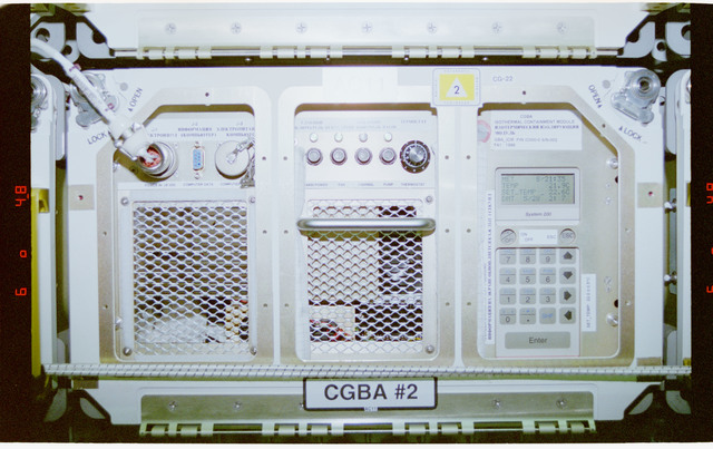 STS077-319-003 - STS-077 - CGBA - Commercial Generic Bioprocessing Apparatus