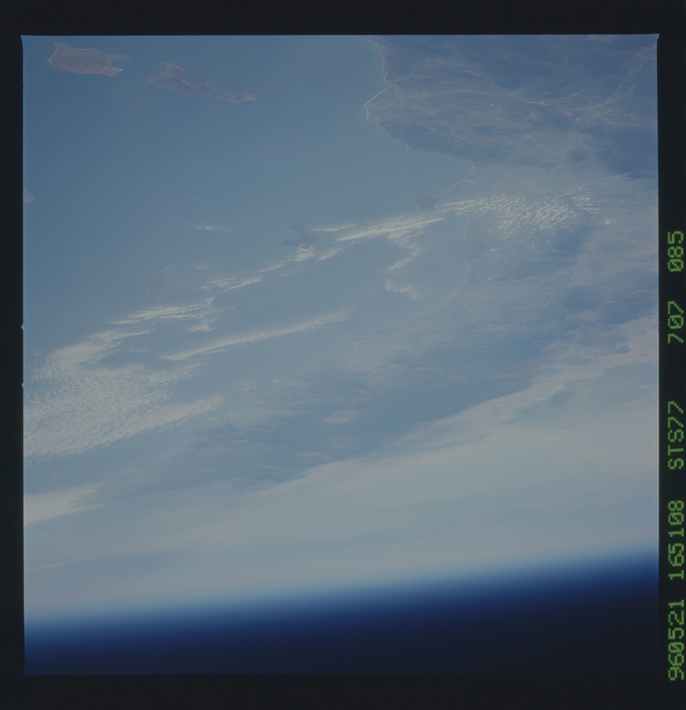 STS077-707-085 - STS-077 - Earth observations taken during STS-77 mission