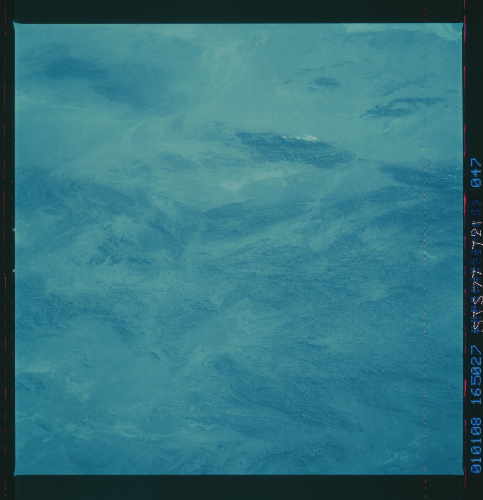 STS077-721-047 - STS-077 - Color infra-red Earth observations taken during STS-77 mission