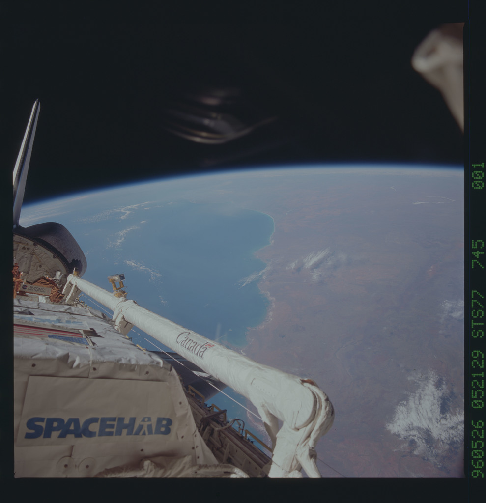 STS077-745-001 - STS-077 - View of the Endeavour's payload bay