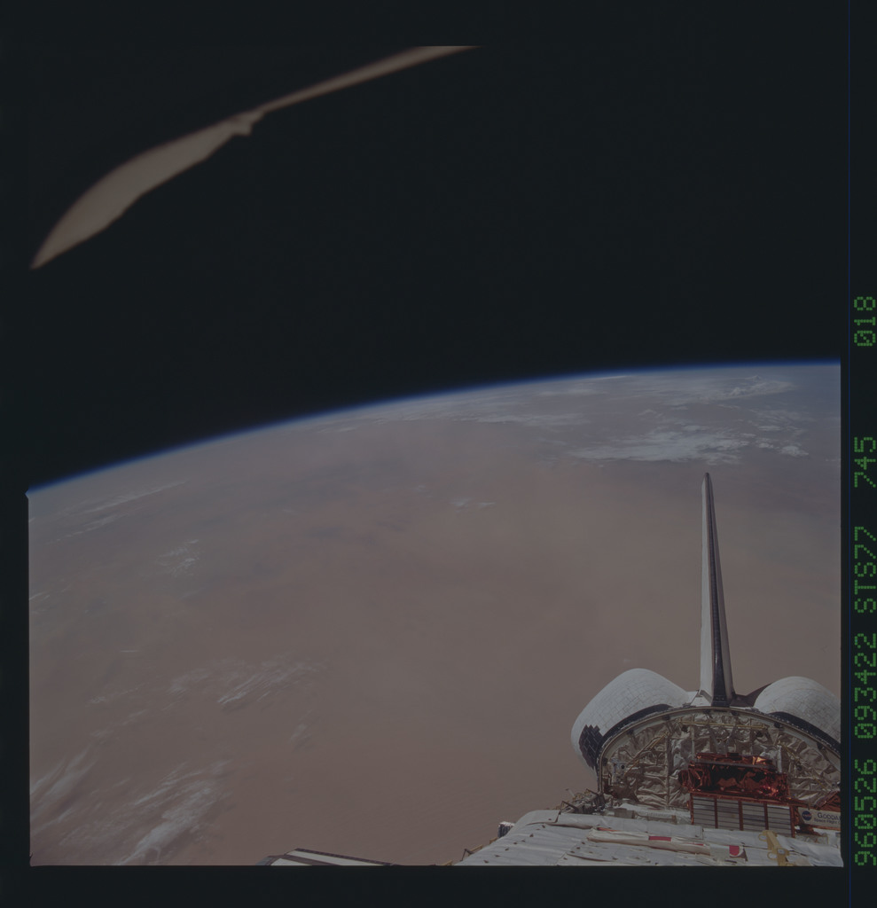 STS077-745-018 - STS-077 - View of the Endeavour's payload bay