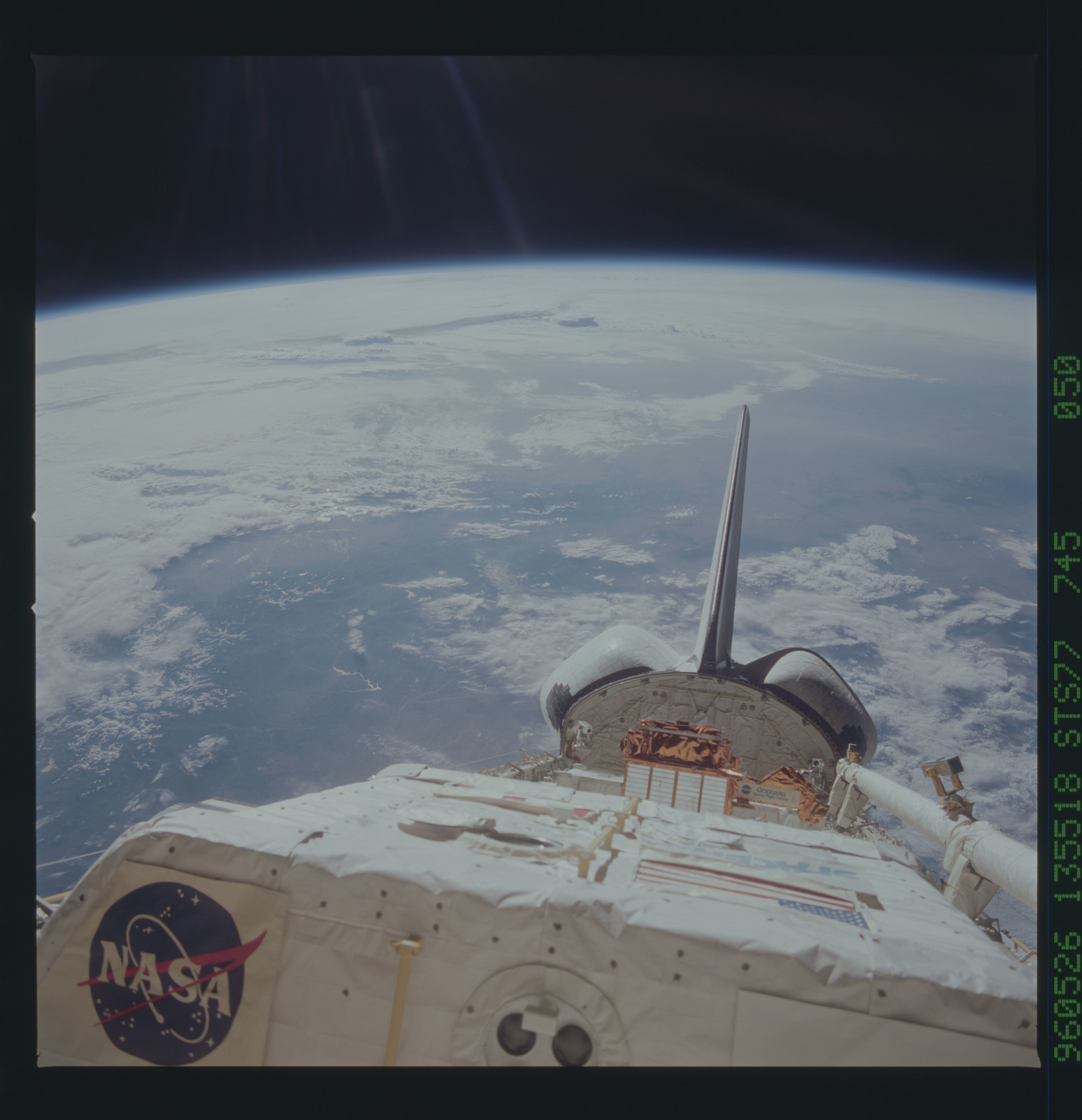 STS077-745-050 - STS-077 - View of the Endeavour's payload bay