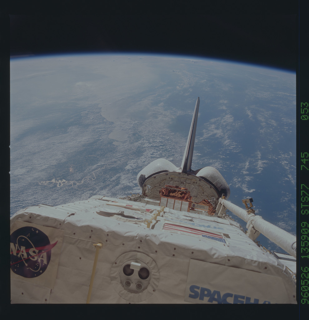 STS077-745-053 - STS-077 - View of the Endeavour's payload bay
