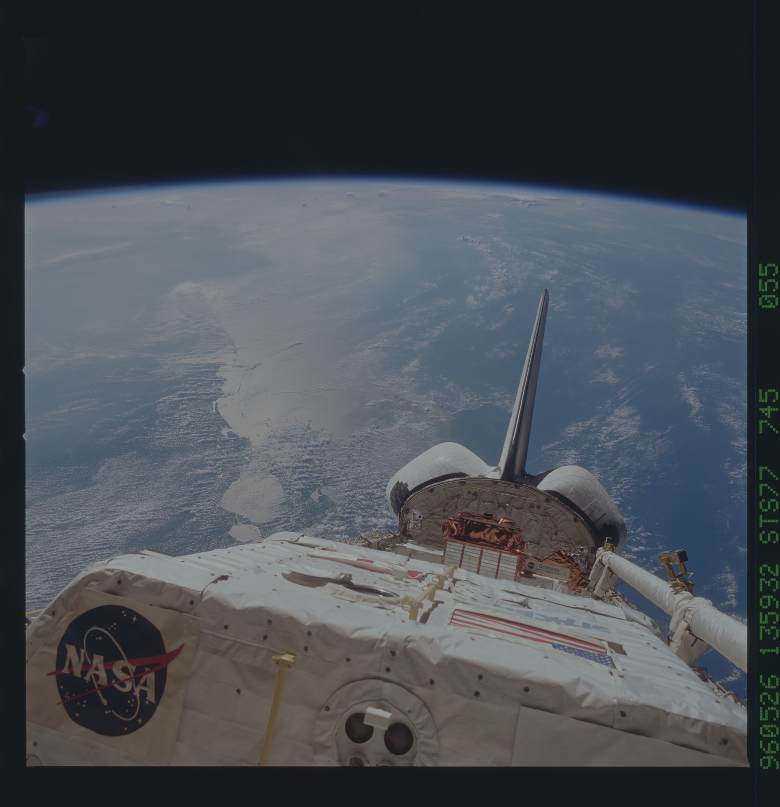 STS077-745-055 - STS-077 - View of the Endeavour's payload bay