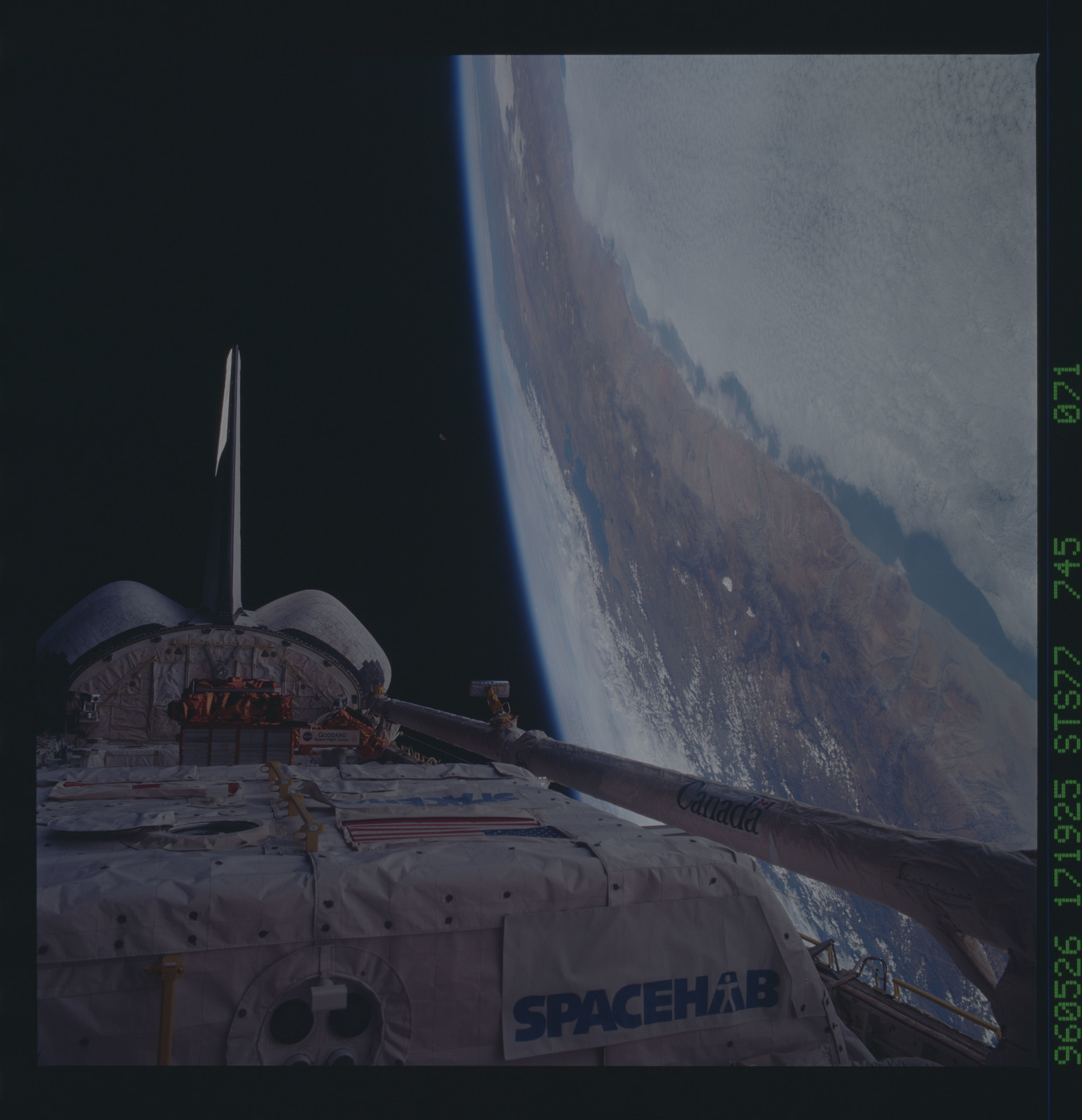 STS077-745-071 - STS-077 - View of the Endeavour's payload bay