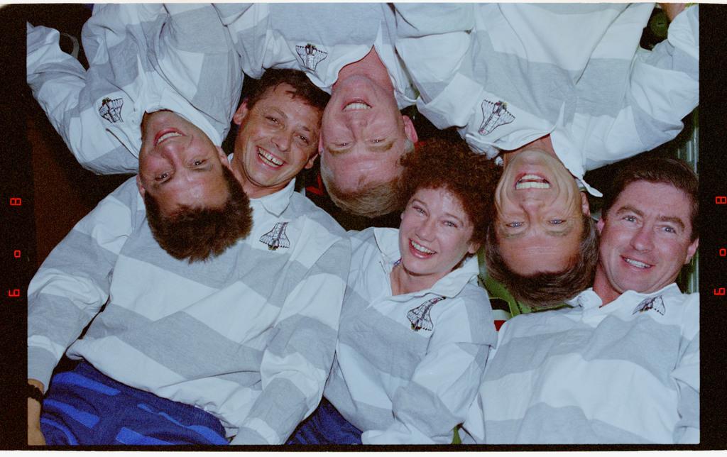 STS078-398-016 - STS-078 - STS-78 crew portrait