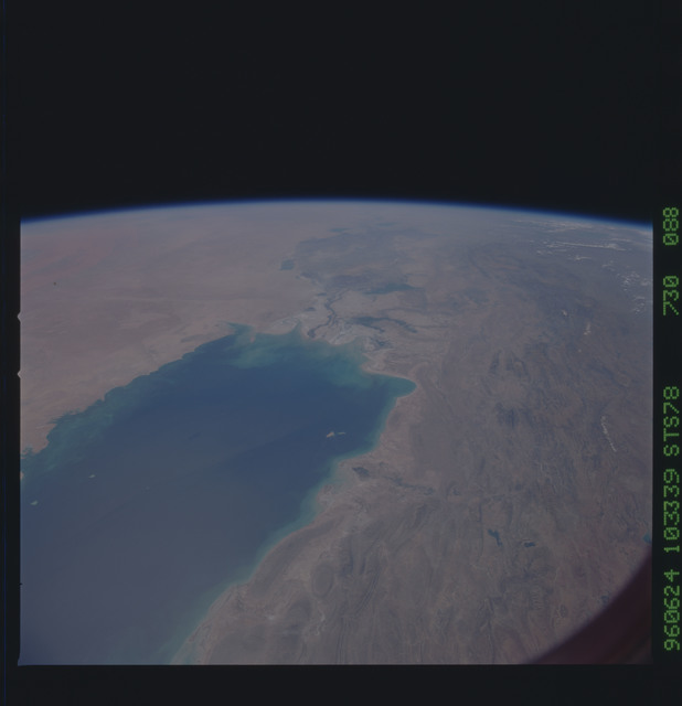 STS078-730-088 - STS-078 - Earth observations taken from Space Shuttle Columbia during STS-78 mission