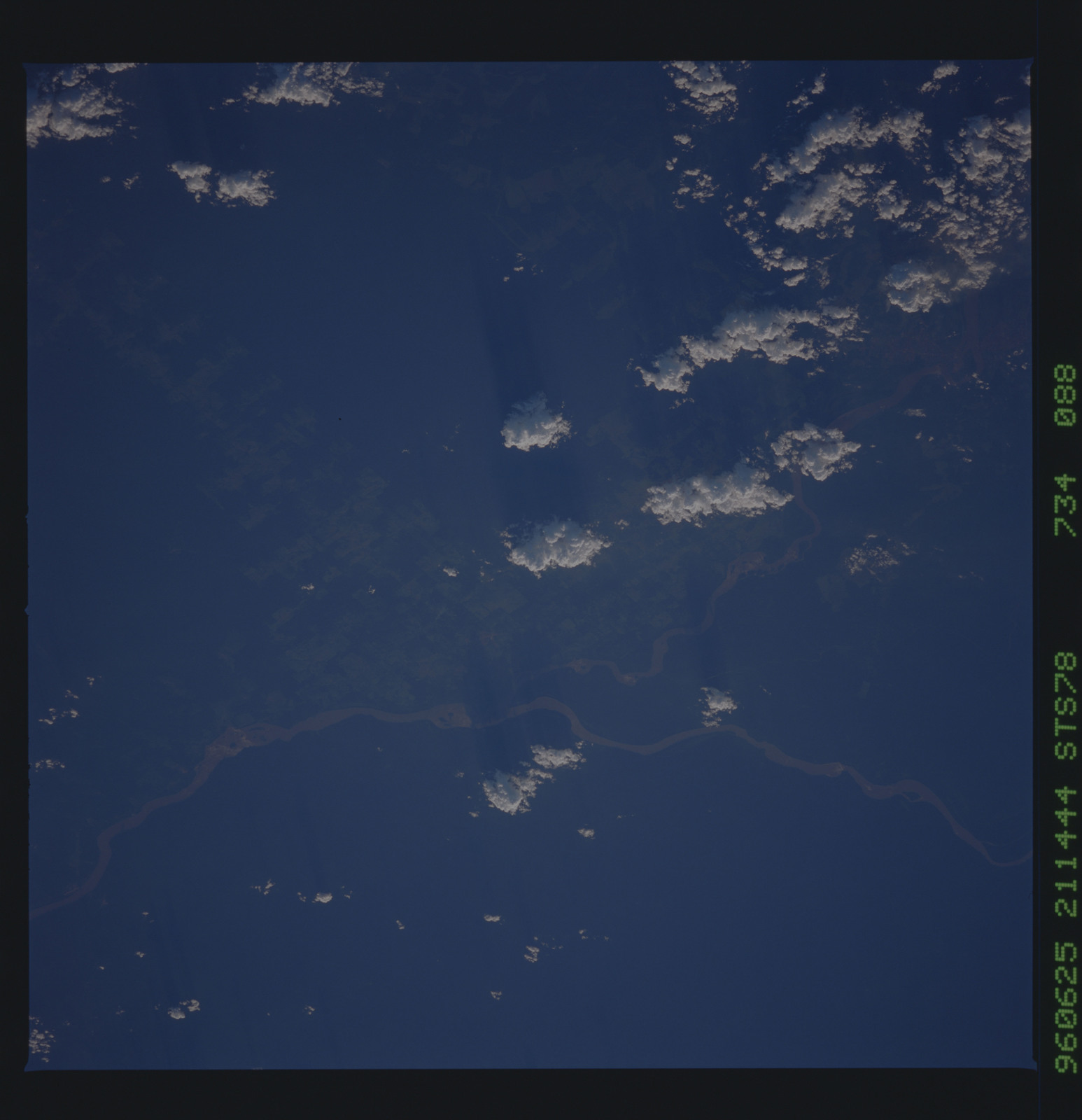 STS078-734-088 - STS-078 - Earth observations taken from Space Shuttle Columbia during STS-78 mission