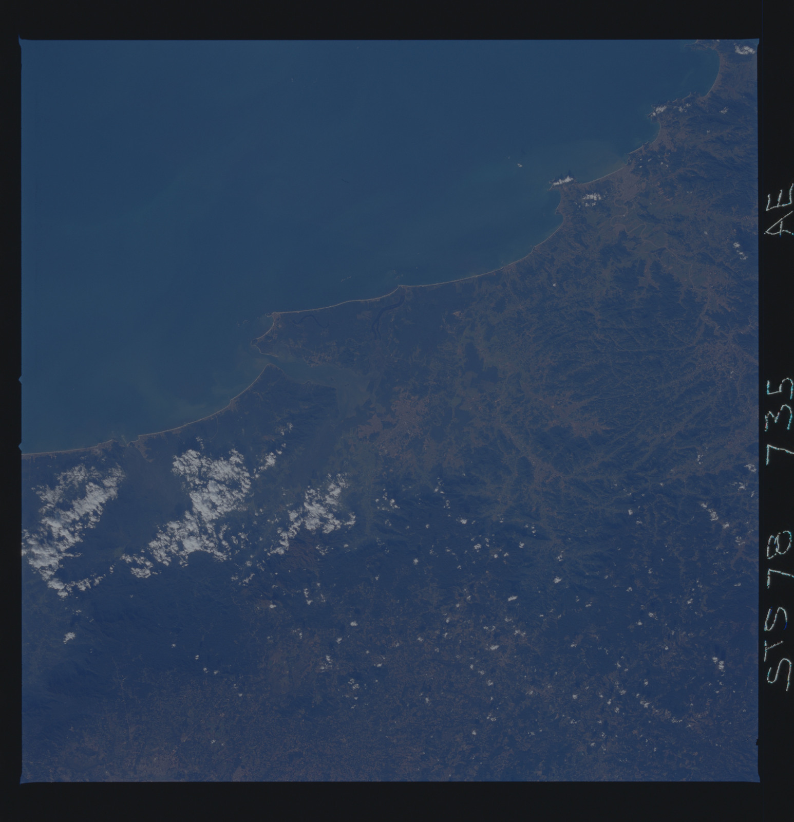 STS078-735-000AE - STS-078 - Earth observations taken from Space Shuttle Columbia during STS-78 mission