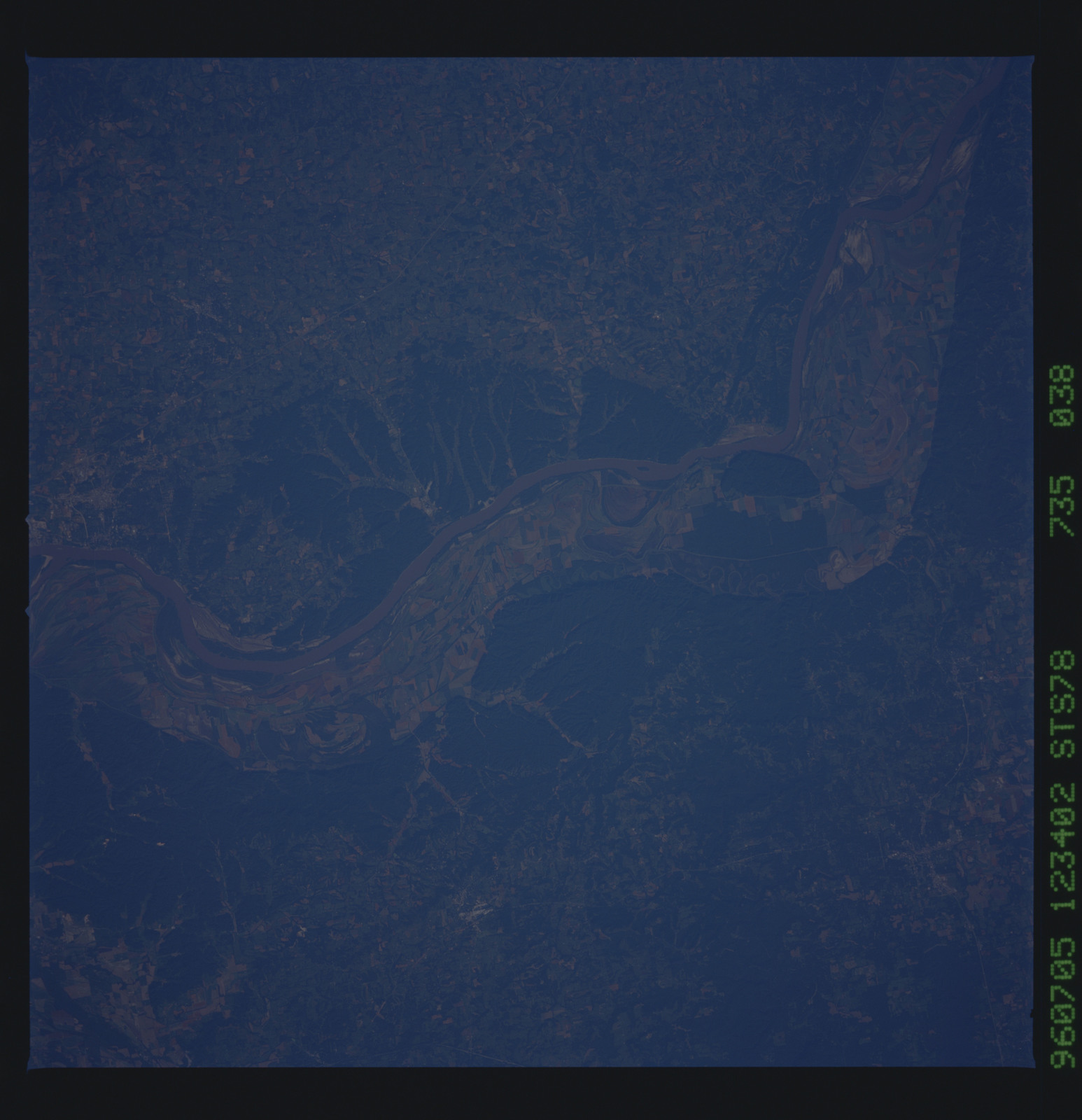 STS078-735-038 - STS-078 - Earth observations taken from Space Shuttle Columbia during STS-78 mission