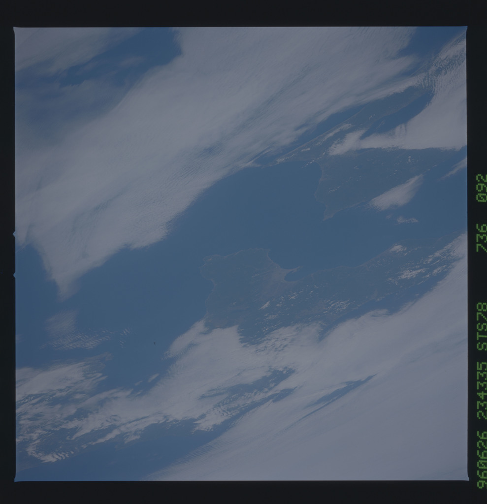 STS078-736-092 - STS-078 - Earth observations taken from Space Shuttle Columbia during STS-78 mission