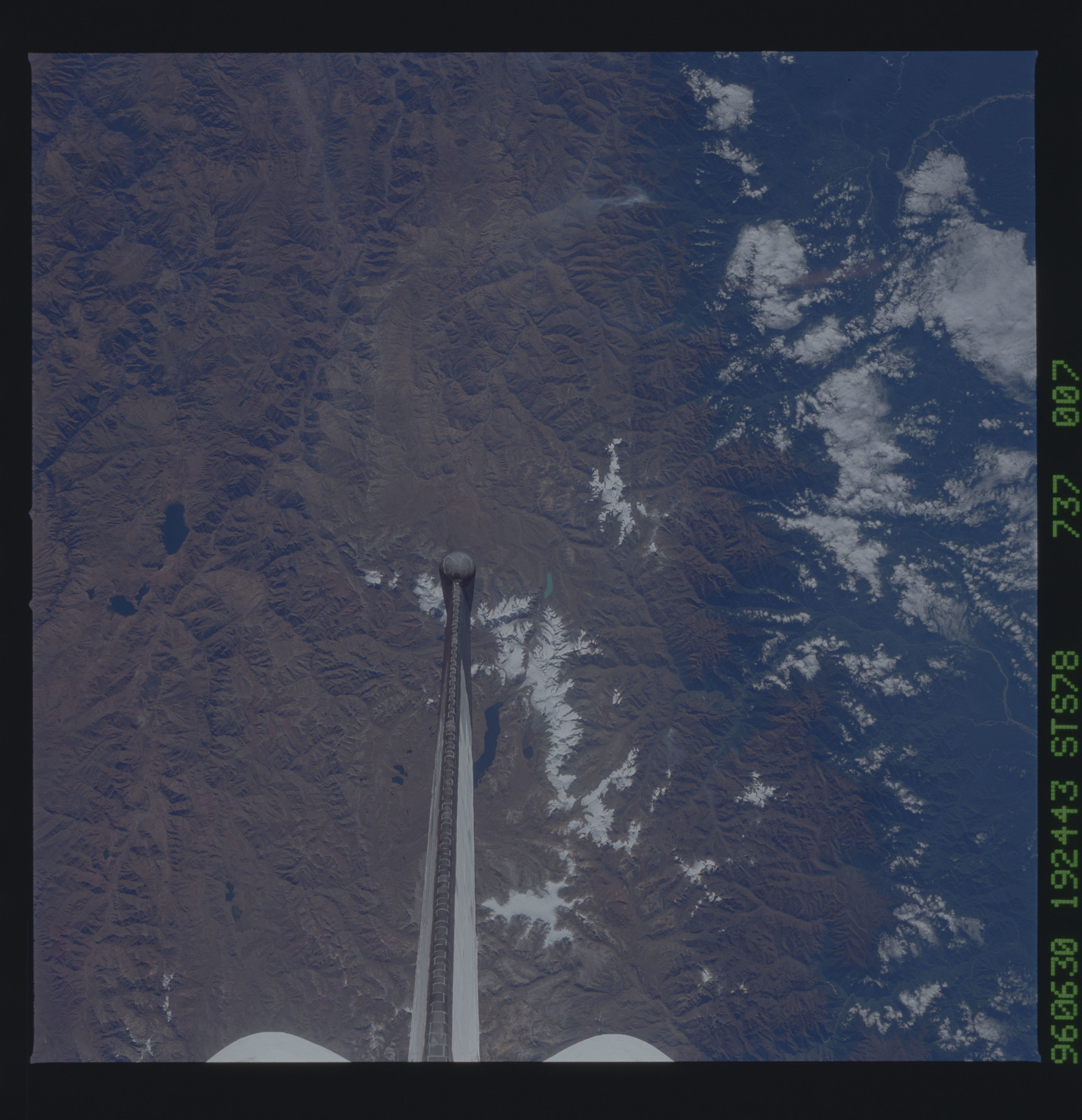 STS078-737-007 - STS-078 - Earth observations taken from Space Shuttle Columbia during STS-78 mission