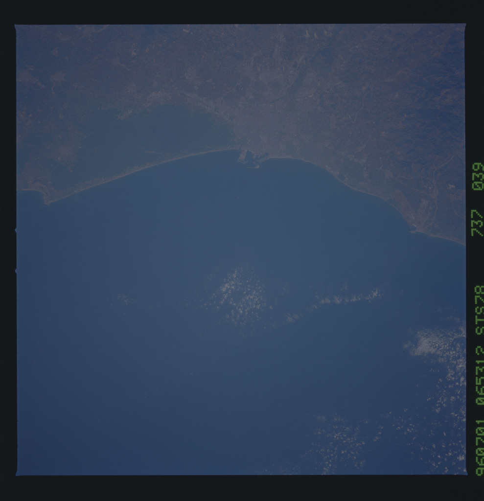 STS078-737-039 - STS-078 - Earth observations taken from Space Shuttle Columbia during STS-78 mission